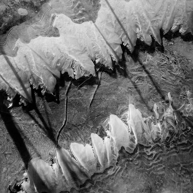 Ice flow on Schaghticoke Ridge