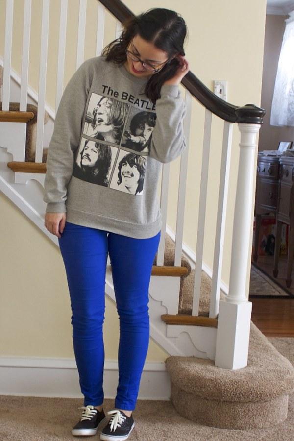 Beatles Graphic Sweatshirt