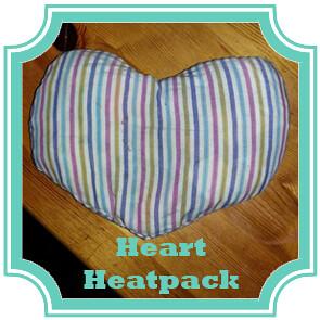 heart heatpack tutorial