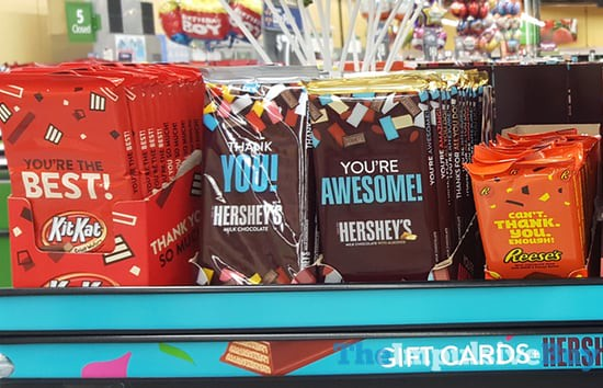 Hershey's Gift Card Holders 2