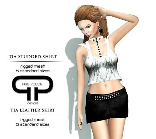 PP - Tia Skirt & Shirt