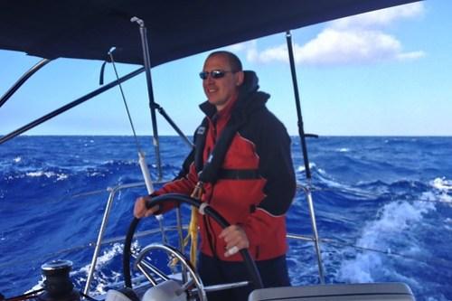 Sebi Steering through Rough Sea