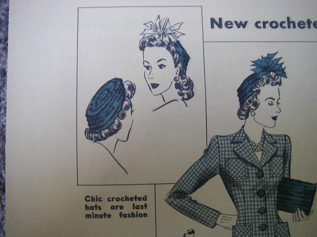 chic crocheted hatss