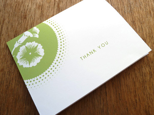Printable Thank You Card - Morning Glory