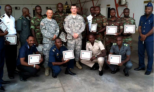 U.S. Army Africa sponsors African Deployment Partnership Training in Benin/></a></td><br />                           <td width=