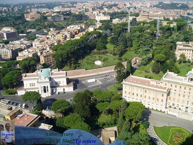 Jardines_desde_mirador_cupula_Vaticano