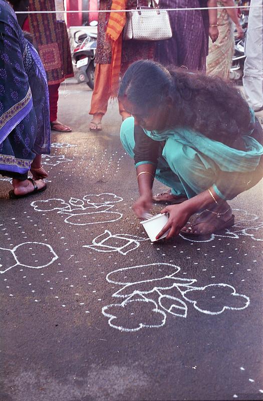 Girls' Kolam Contest