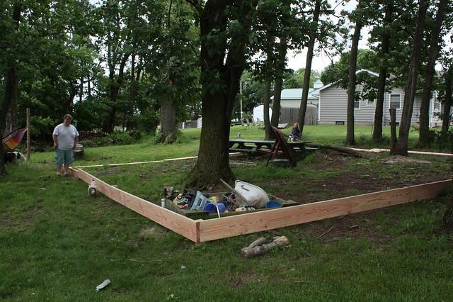 New backyard project