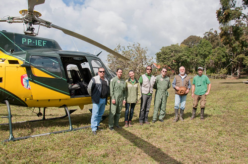 Helicóptero do IEF