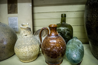 Edgefield Pottery Display