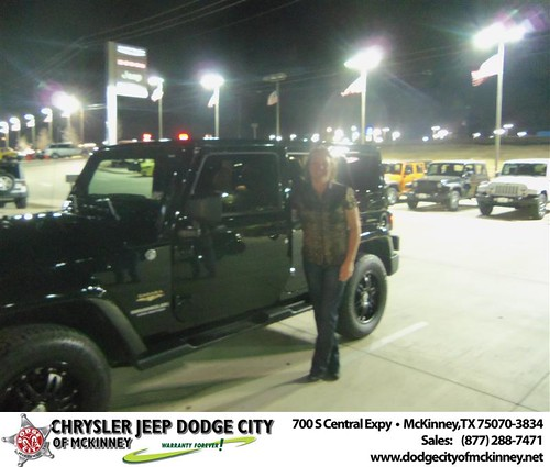 Happy Anniversary to Patricia A Knouse on your 2012 #Jeep #Wrangler from Joe Ferguson  and everyone at Dodge City of McKinney! #Anniversary by Dodge City McKinney Texas