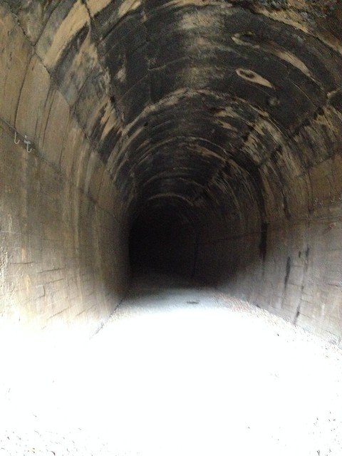 Inside First Tunnel