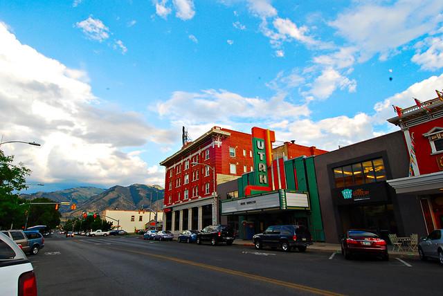 Utah Theater in Logan, Utah