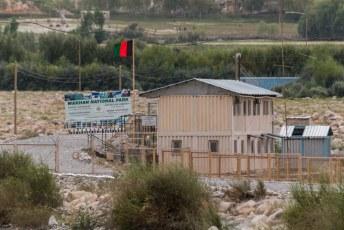 Dan kon je zonder visum een (heel) klein stukje Afghanistan in, maar zelfs dat vinden ze tegenwoordig al te gevaarlijk nu de Taliban weer actief is in dit gebied.