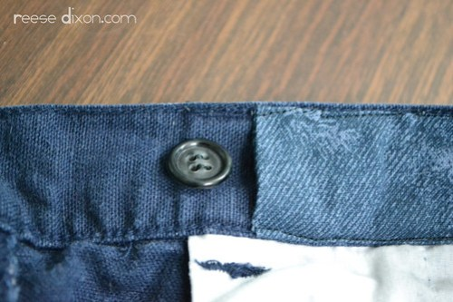 Adjustable Waistband Tutorial Step 7