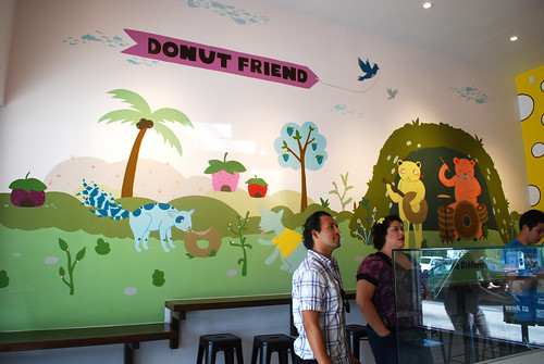 Donut Friend mural