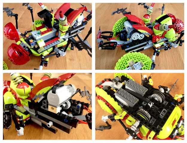Remote Controlled Hive Crawler
