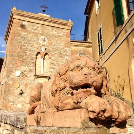 Borgo Lucignanello, Lucignano d'Asso