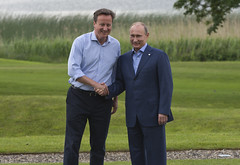 PM welcomes President Putin