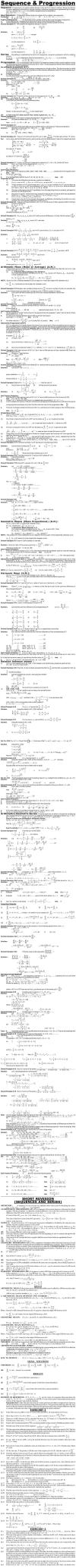 Maths Study Material - Chapter 3