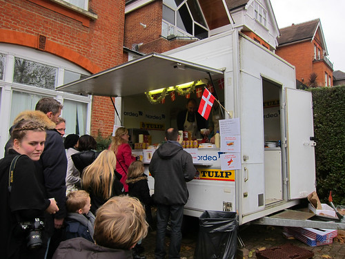 A Tulip Hot Dog Stand