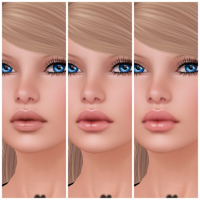 Glam Affair - Sylvia - 3 Basic Lips