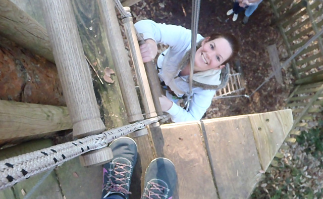 Go Ape climbing 640