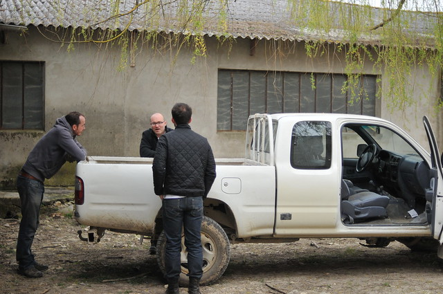 three men and a hilux
