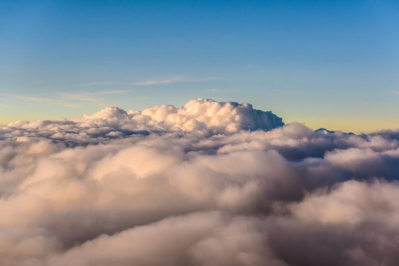 Nubes sobre México