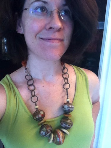 Finally ready for the Gathering! Just need to pack my necklace and relax. by wandering spirit designs