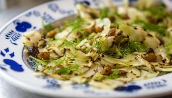 Salade met gegrilde venkel en dronken rozijnen @ Flickr