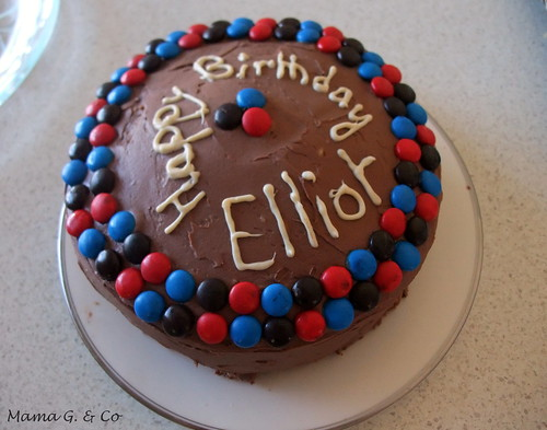 Chocolate Birthday Cake (1)