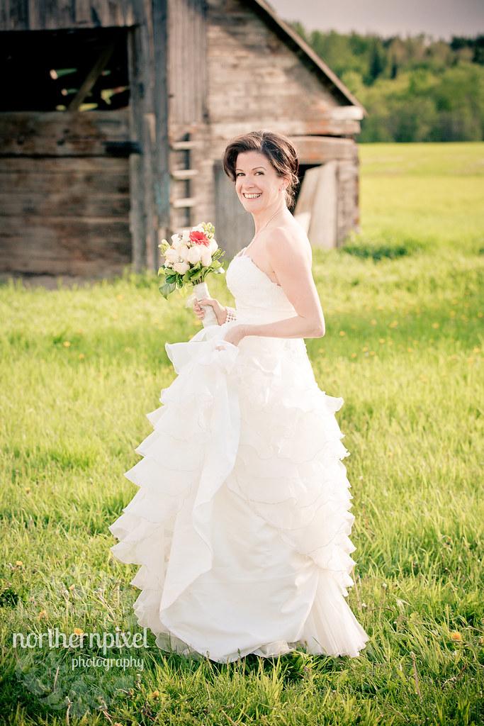 The Bride - Prince George BC Wedding