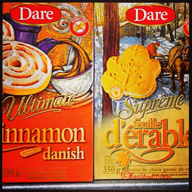 Aug 14 - dare {I used to live a couple blocks away from the Dare Cookie factory. Mmmm, what delicious aromas}. #photoaday #dare #cookies