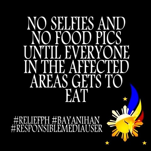 no selfies and no food