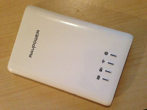 RAVPower 5-in-1 FileHub device