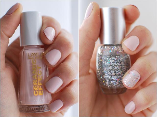 Layla Ceramic Effect CE47 | essence nail art twins glitter topper 02 Julia