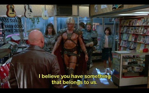 You have something that belongs to us (Masters of the Universe)