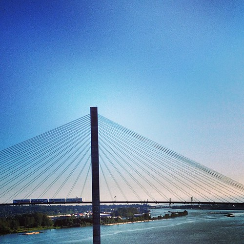 SkyTrain to New Westminster BC by @MySoDotCom