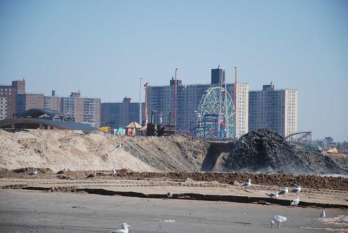 Coney Island Post-Sandy Beach Restoration