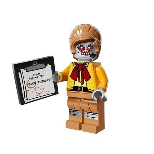 The LEGO Movie Minifigures Velma Staplebot