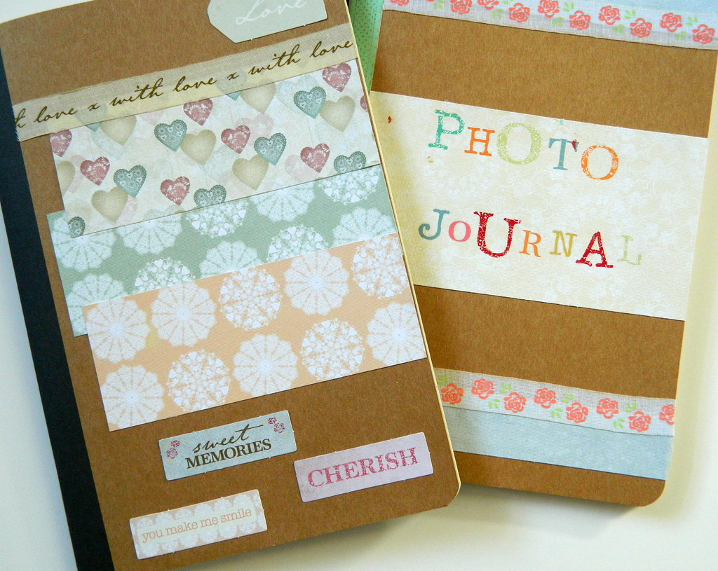 Decorated journals