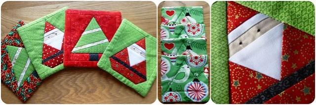 Secret Santa Coasters