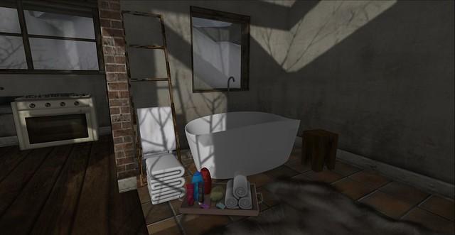 Winter Cottage: Bathroom