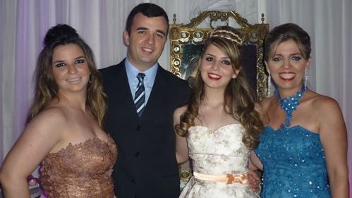 Lia, João Augusto, Liandra e Liane Sá Palmitesta