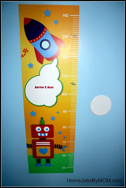 Tolalu Rocket Robot Growth Chart