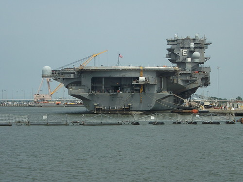 USS Enterprise CVN-65 (Naval Station Norfolk, June 2013)