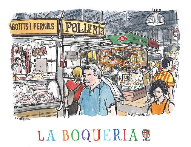 La Boqueria St Josep, Barcelona