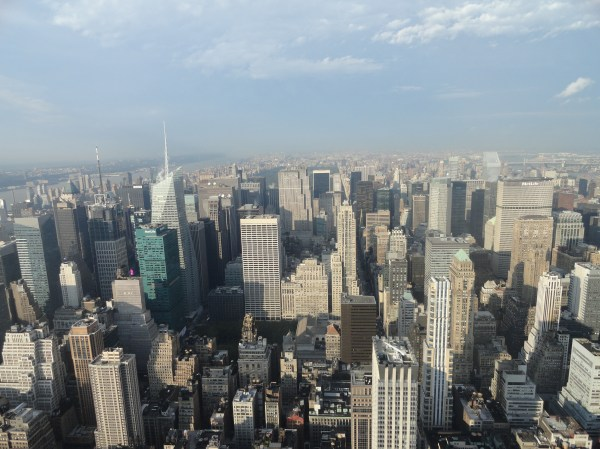 Day View Empire State Building Observatory Manhattan York City United States