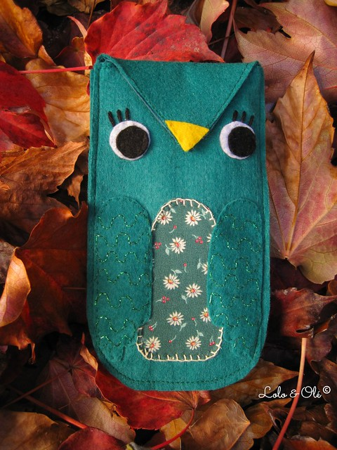 loloandole_owl_purse_emerald